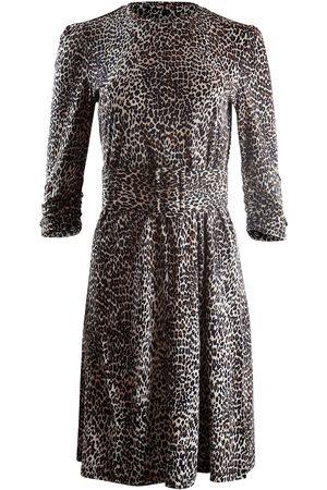 MARELLA Leopard Print Jersey Dress