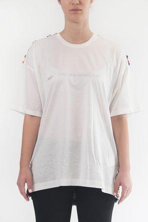 MARCO DE VINCENZO T-shirt with sequins