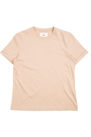 FOLK CLOTHING FOLK Multi Stitch Tee - STONE