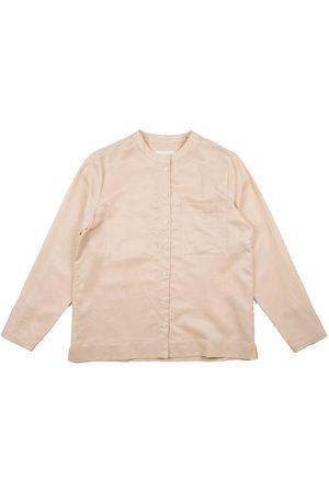FOLK CLOTHING FOLK Collarless Shirt - Japanese Fabric - SOFT
