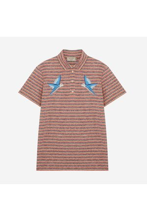 Maison Kitsuné MAISON KITSUNÉ Polo Surf Stripes - MULTICOLOUR