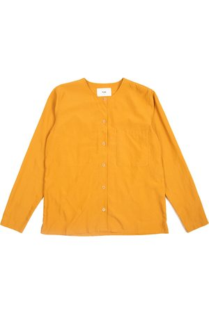 FOLK CLOTHING FOLK Collarless Shirt