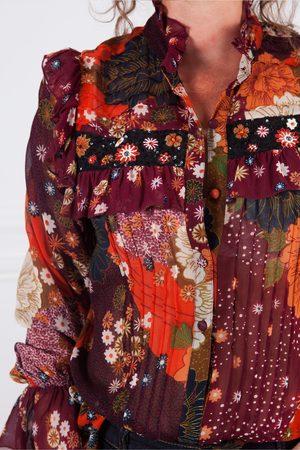 Derhy Choriste Floral Chiffon Print Shirt