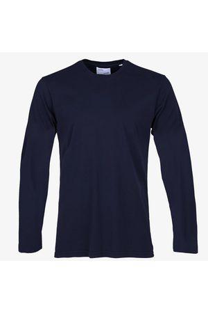 Colorful Standard Women T-shirts - Classic Organic L/S Tee - Navy