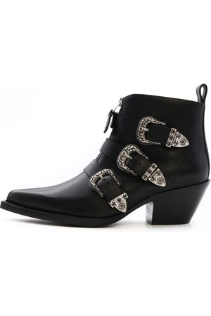 R13 Ankle Three Buckle Boot