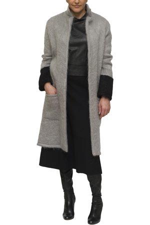 KGW Studio Grey and black mohair cardigan