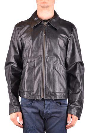 Armani Men Leather Jackets - Leather Jacket in