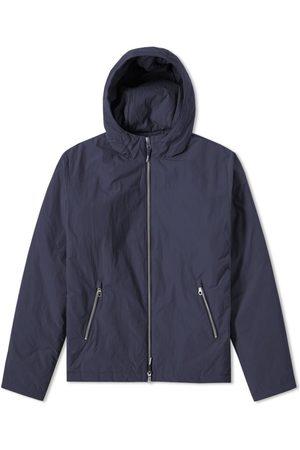 FOLK CLOTHING FOLK Wadded Hoodie - NAVY - LAST PIECE
