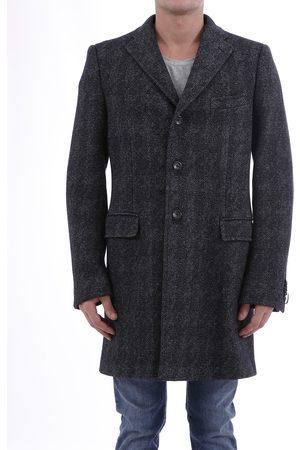 Tonello Grey Coat Pied-de-poule