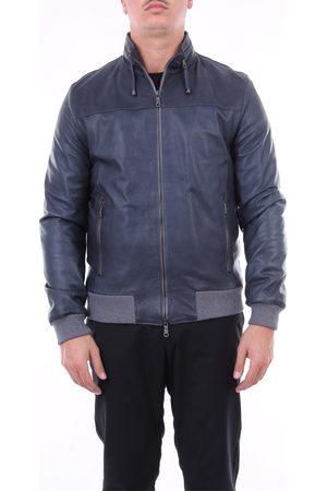 EMANUELE CURCI Men Leather Jackets - Jackets Leather jackets Men Petroleum