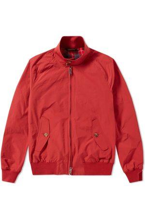 Baracuta Men Jackets - G9 Harrington Jacket Dark