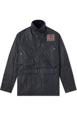 Barbour International Steve McQueen Joshua Wax Jacket Navy