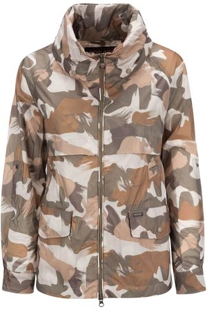 Woolrich W s Short A-Line Anorak Camou