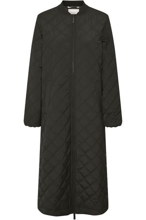 Part Two Edith Black Padded Coat