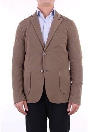 DISTRETTO 12 Jackets Blazer Men Cookie