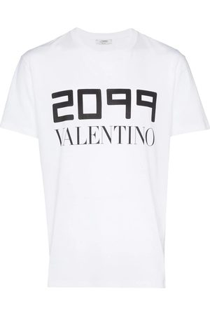 VALENTINO MEN'S SV0MG04E5SJ0BO COTTON T-SHIRT