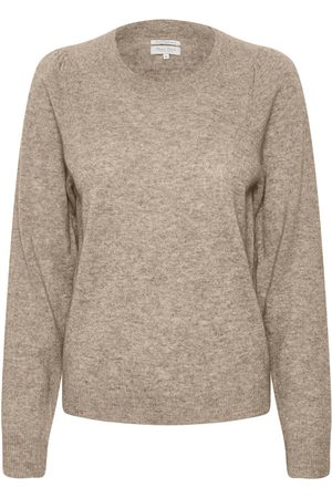 Part Two Evina Camel Knit