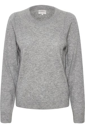 Part Two Evina Grey Knit