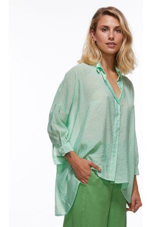 Zaket & Plover Women Shirts - Z & P Neon Green Relaxed Fit Shirt