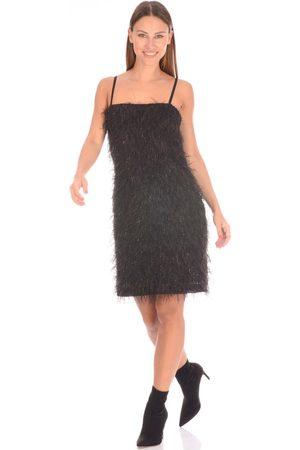 be blumarine Dress Feathers