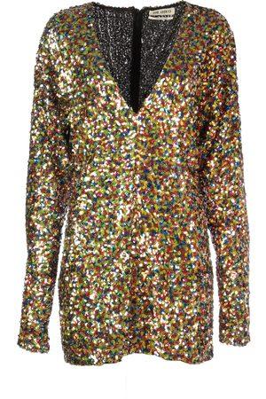 ATTICO WOMEN'S 192WCA08H012021 MULTICOLOR POLYESTER DRESS