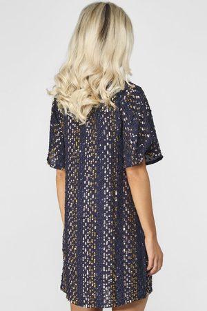 Graham and Spencer Velvet by Graham & Spencer Vivi Multi Sequin Dress