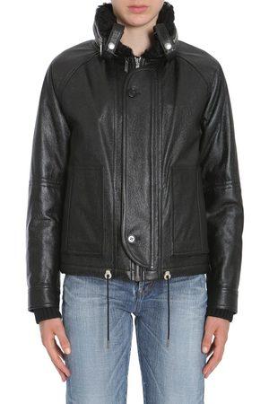 Saint Laurent Women Leather Jackets - SAINT LAURENT WOMEN'S 483183YC2JA1000 LEATHER OUTERWEAR JACKET