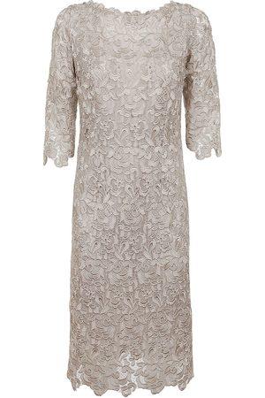 CHARLOTT WOMEN'S 468819BEIGE BEIGE POLYESTER DRESS