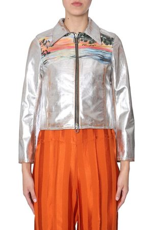 Golden Goose Women Leather Jackets - WOMEN'S G33WP036A1 LEATHER OUTERWEAR JACKET