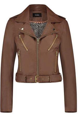 Ibana 302010013 Leather jacket Moss Camel