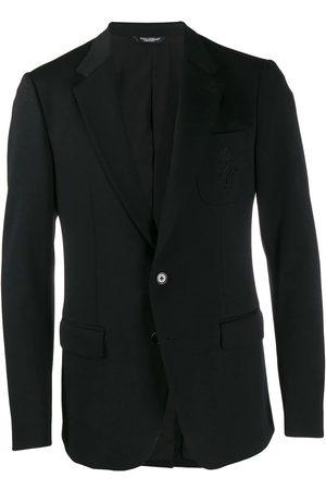 Dolce & Gabbana Men Blazers - DOLCE E GABBANA MEN'S G2NF4ZGEH80N0000 WOOL BLAZER
