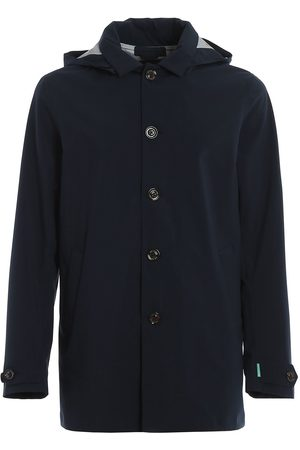 save the duck MEN'S D4202MGRINX00146 POLYESTER TRENCH COAT