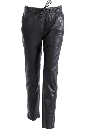 Oakwood Gift Black Leather Trousers