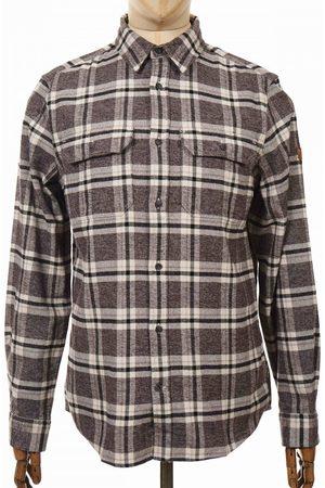 Fjällräven Men Casual - Fjallraven Ovik Heavy Flannel Shirt - Dark Size: Small, Colour: D