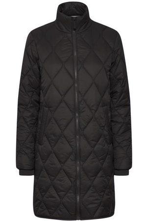 Part Two Olilase Black Padded Coat