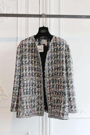 Edward Achour Paris Edward Achour Multi Tweed Jacket 431033/1623D