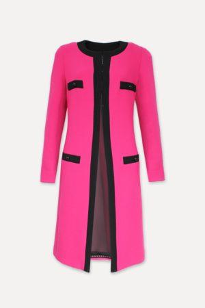 WEILL Carlen Fuchsia Coat 131111