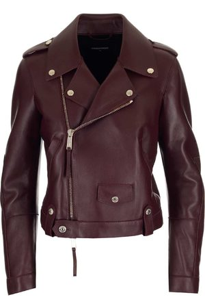 Dsquared2 WOMEN'S S75AM0794SY1496248 LEATHER OUTERWEAR JACKET