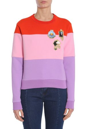 Carven WOMEN'S 7022SW002388 MULTICOLOR COTTON SWEATSHIRT