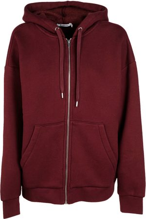 Alexander Wang WOMEN'S 4C372001D2619 BURGUNDY COTTON SWEATSHIRT
