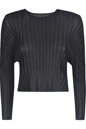 PLEATS PLEASE BY ISSEY MIYAKE PLEATS PLEASE ISSEY MIYAKE WOMEN'S PP06FK34215 POLYESTER T-SHIRT