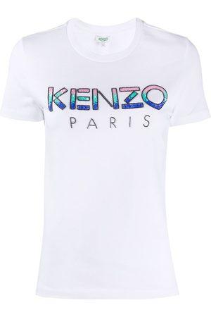 Kenzo Women T-shirts - WOMEN'S FA52TS82193601 COTTON T-SHIRT