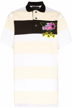 Prada MEN'S UJN640S2011WB8F0A8V COTTON POLO SHIRT