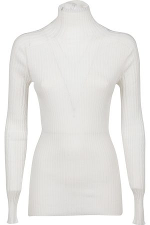 Victoria Victoria Beckham VICTORIA BECKHAM WOMEN'S JUKNT71014WHITE COTTON SWEATER