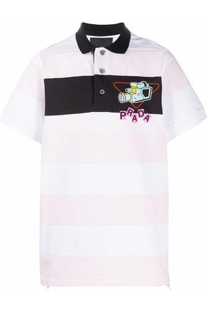 Prada Men Polo Shirts - MEN'S UJN640S2011WB8F0AY1 COTTON POLO SHIRT