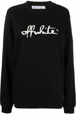 OFF-WHITE WOMEN'S OWBA055E20FLE0011001 COTTON SWEATSHIRT