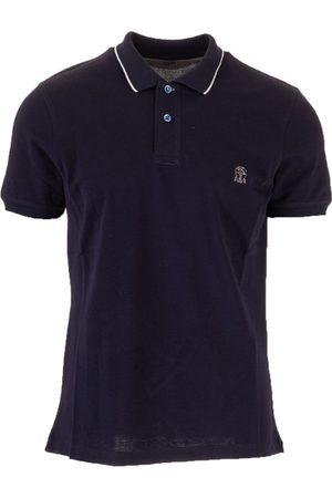 Brunello Cucinelli Men Polo Shirts - MEN'S M0T639779GCD361 COTTON POLO SHIRT