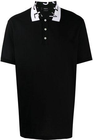 VERSACE Men Polo Shirts - MEN'S A87403A231240A1008 COTTON POLO SHIRT