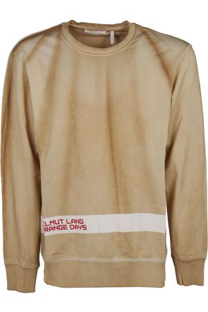 Helmut Lang Men Sweatshirts - MEN'S J04HM516YCG BEIGE COTTON SWEATSHIRT