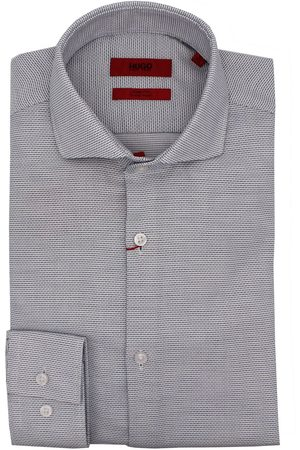 HUGO BOSS MEN'S KASON1021258501413 COTTON SHIRT